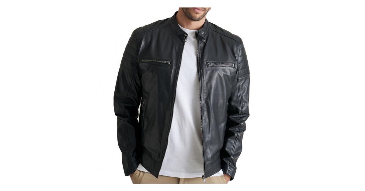 Saki Leather jacket Lewis