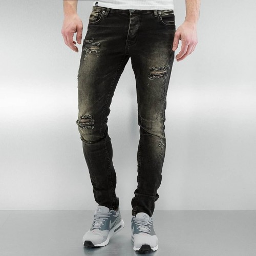 2Y Jeans 2944-Destroyed black