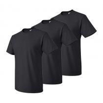 3-pack T-shirts - Over sizes 4XL-5XL -Black