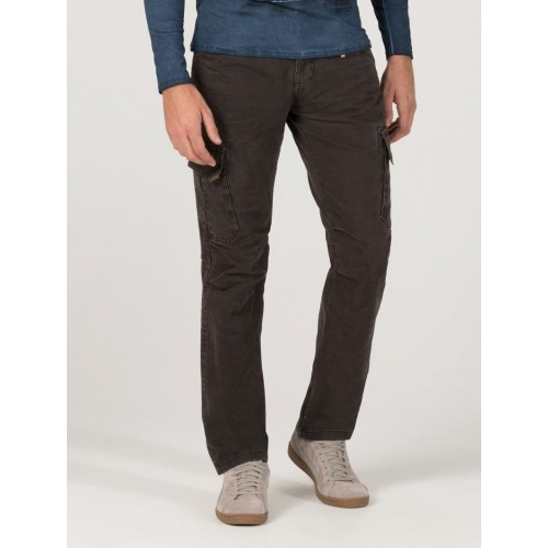 Timezone Pants Ben Heavy-Dark brown