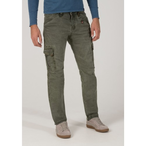 Timezone Pants Ben Heavy-Grey-olive