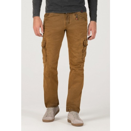 Timezone Pants Ben Heavy-Bronze brown