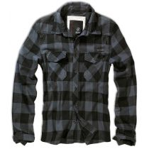 Checkshirt-Black/Grey