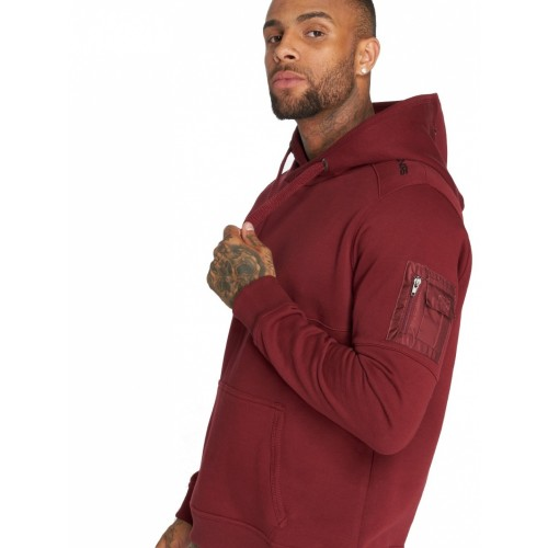 DNGRS  Hoody 282-Wine red