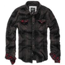 Duncan Checkshirt-Brown/Black