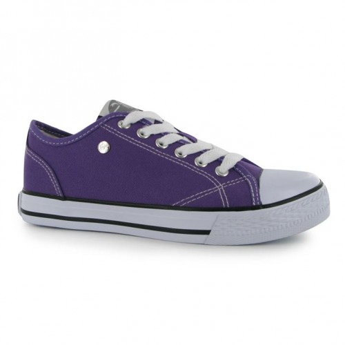Dunlop-Canvas Low Ladies Purple