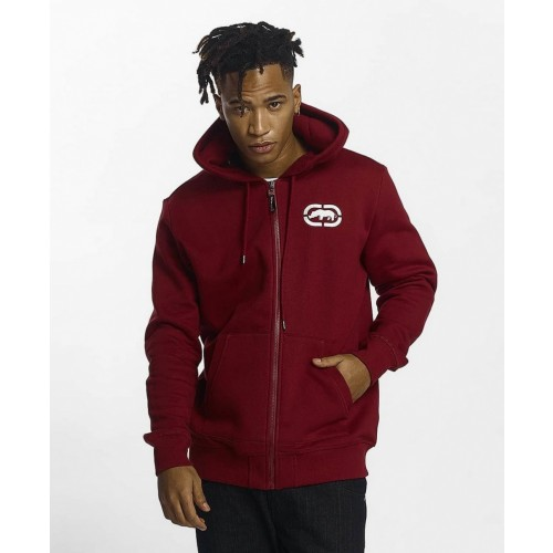 Ecko zip Hoody 1017-Dark red