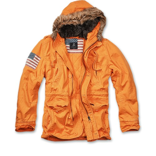 Vintage Explorer Jacket-Orange