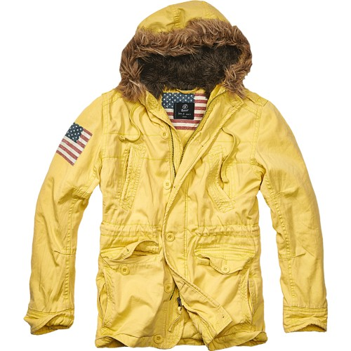Vintage Explorer Jacket-Yellow
