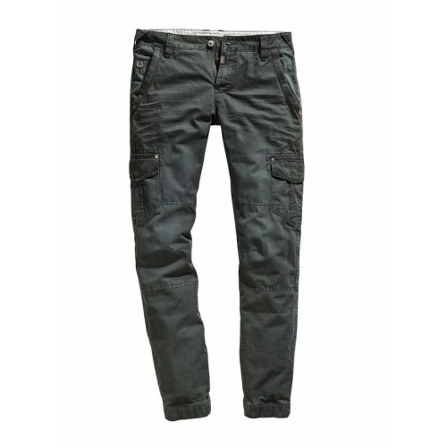 Timezone Pants regular Hunter-Petrol
