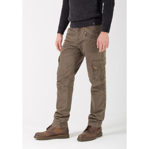 Timezone Pants regular Ben -Cigar brown