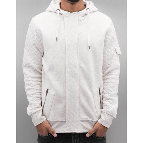 JR Zip Hoody203-White