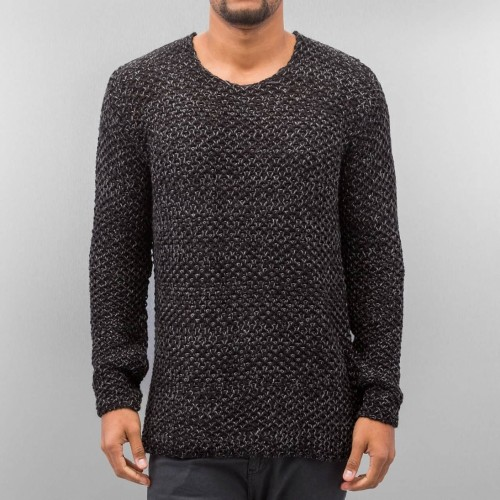 JR Knit Pullover 293-Black