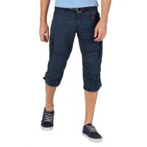 Timezone Miles 3/4 shortsit-Dark navy