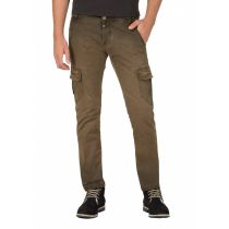 Timezone Niklas Pants-Dark earth