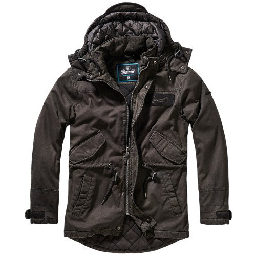 Nile Parka Jacket-Black
