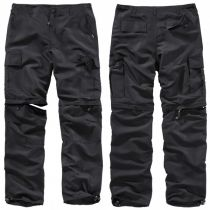 Outdoor quickdry trousers-Black