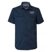 Petrol shortsleeve shirt 407-Navy