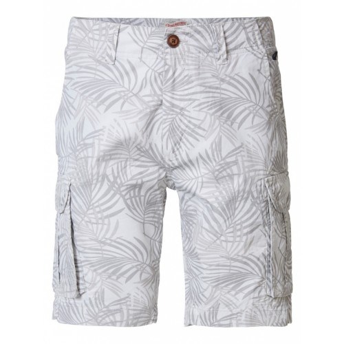 Petrol cargo shorts 1090-Antigue white