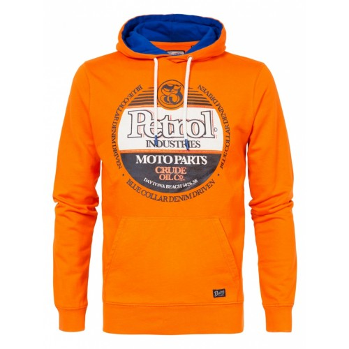 Petrol Sweater Hooded 300-Carrot