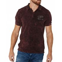 Petrol polo shirt 901-Wine red