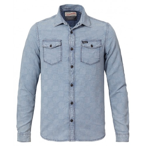 Petrol shirt 402-Sky blue