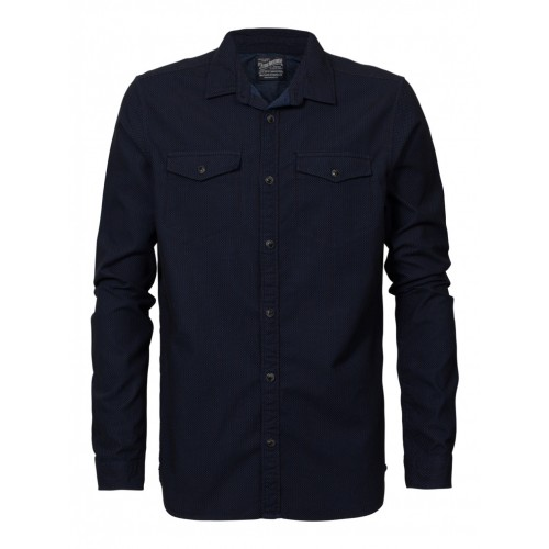 Petrol shirt 416 shirt-Dark navy