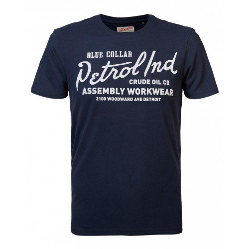 Petrol T-shirt 004-19-Dark navy