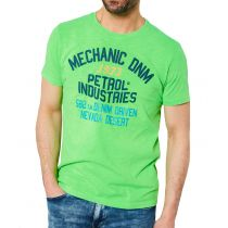Petrol T-shirt 19643-Safety green