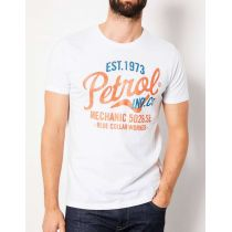 Petrol T-shirt 602-White