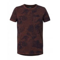 Petrol T-shirt 617-Brown