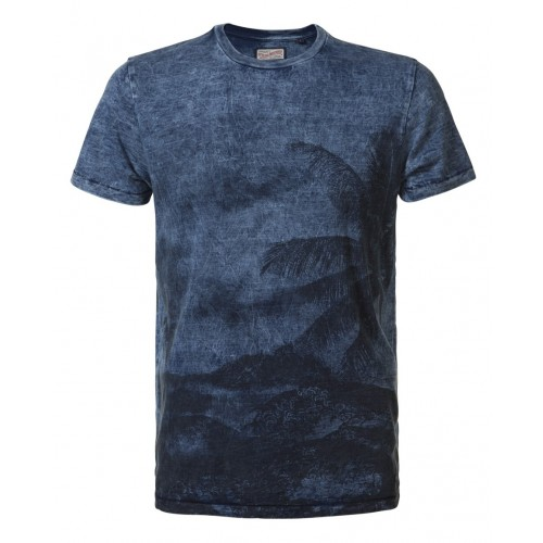 Petrol T-shirt 657-Light Indigo