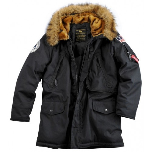 Alpha Industries Polar jacket-Black