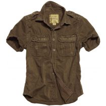 Raw Vintage Shirt shortsleeve - Brown