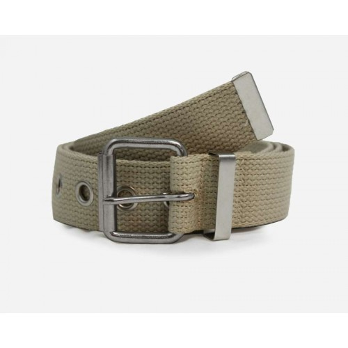Canvas belt-Natural white