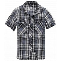 Roadstar shortsleeve shirt-GreyBlack