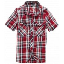 Roadstar shortsleeve shirt-Red