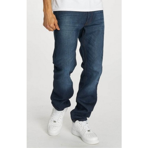 Rocawear Straight loose jeans 001-Mid blue