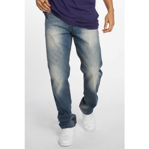 Rocawear Straight loose jeans 016-Washed Mid blue