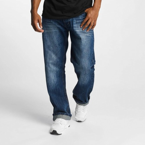 Rocawear Straight loose jeans 9914-822 Mid blue