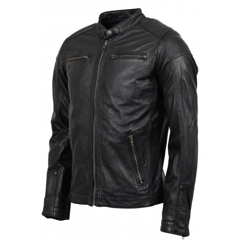 Rocknb Leather jacket-Merin