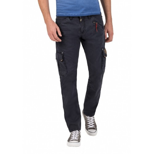 Timezone Pants Roger light-Dark navy