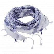 Shemagh Scarf-blue-white