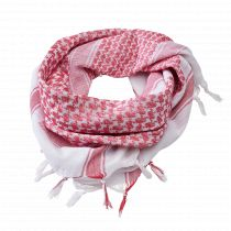 Shemagh Scarf-Red-white