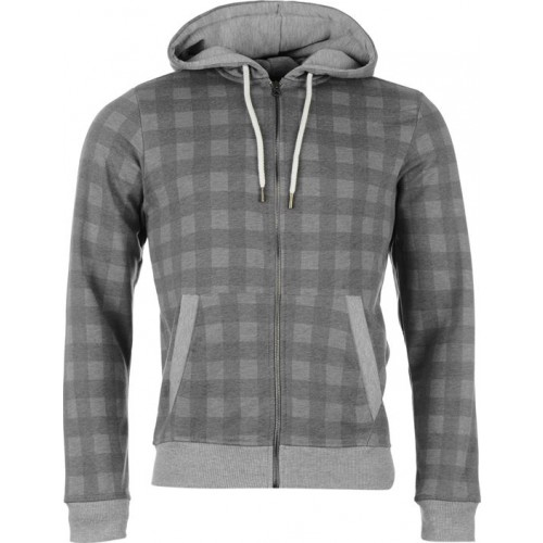 SoulCal Zip Checked Hoody