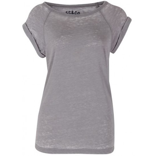 SoulCal ladies washed Top-grey