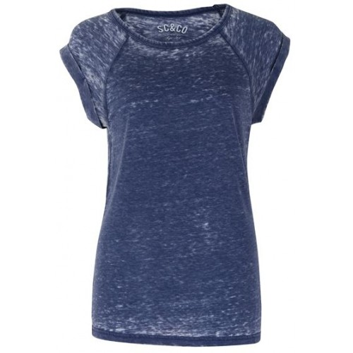 SoulCal ladies washed Top-Navy