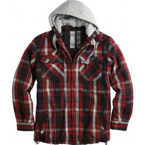 Lumberjack Jacket-Red