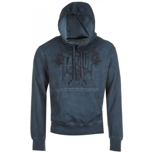 Tapout Dye Over The Head Hoody-Petrol