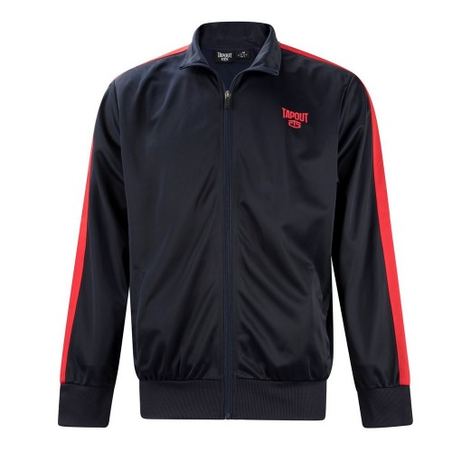 Tapout track jacket-Navy/red stripe
